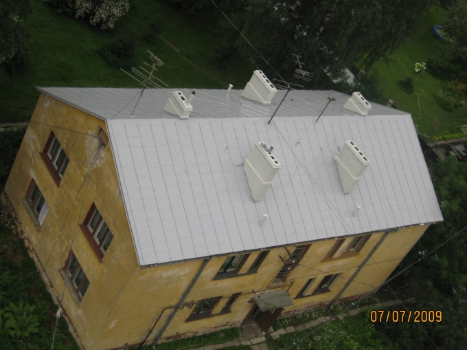 Készen lévő tető vízszigetelés
