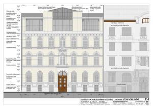Aradi utca - Homlokzat felújítás és homlokzati nyílászáró csere 1