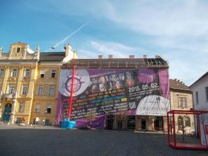 Budapest – III Kerület - Fő tér 2 - Homlokzat felújítás 1