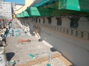 Budapest – III Kerület - Fő tér 2 - Homlokzat felújítás 12