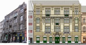 Budapest - VIII Kerület -  Somogyi Béla utca 7 - Homlokzat felújítás 13