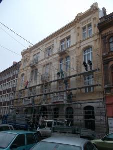 Budapest - VIII Kerület -  Somogyi Béla utca 7 - Homlokzat felújítás 5