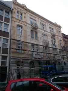 Budapest - VIII Kerület -  Somogyi Béla utca 7 - Homlokzat felújítás 4