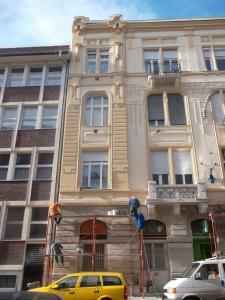 Budapest - VIII Kerület -  Somogyi Béla utca 7 - Homlokzat felújítás 8