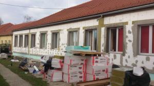 Kisbér - Homlokzati felújítás és energetikai korszerűsítés 1