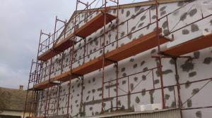 Kisbér - Homlokzati felújítás és energetikai korszerűsítés 6