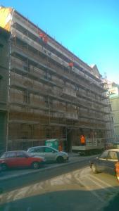 Budapest – VII Kerület - Vörösmarty utca 14 - Homlokzat felújítás 2