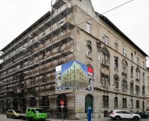 Budapest – VII Kerület - Vörösmarty utca 14 - Homlokzat felújítás 5