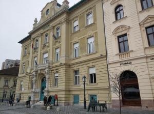 Budapest – III Kerület - Fő tér 3 - Polgármesteri Hivatal - Homlokzat felújítás 1