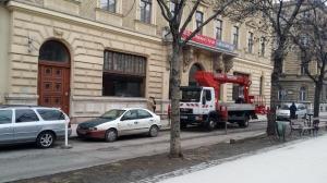 Budapest – VI Kerület - Andrássy út 70 - Irodaház - Homlokzat felújítás 1