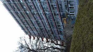 Szanatórium utca - Homlokzat felújítás 6