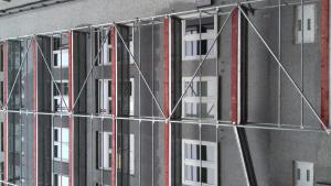 Szanatórium utca - Homlokzat felújítás 2