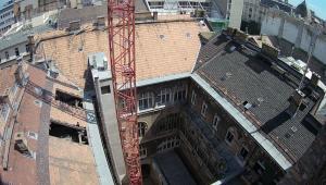 Sas utca 2018 - Homlokzat és tetőtér beépítés 1